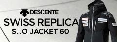 DESCENTE スキーウェア S.I.O JACKET 60 SWISS REPLICA/DWUOJK50
