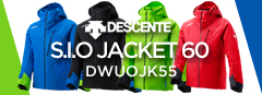 DESCENTE S.I.O JACKET 60/DWUOJK55
