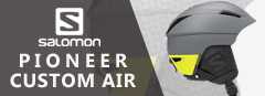 SALOMON スキーヘルメット PIONEER C.AIR
