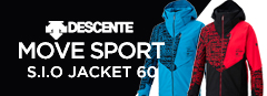 DESCENTE S.I.O JACKET 60 MOVE SPORT / DWMOJK71