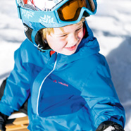 子供用スキーウェアの機能