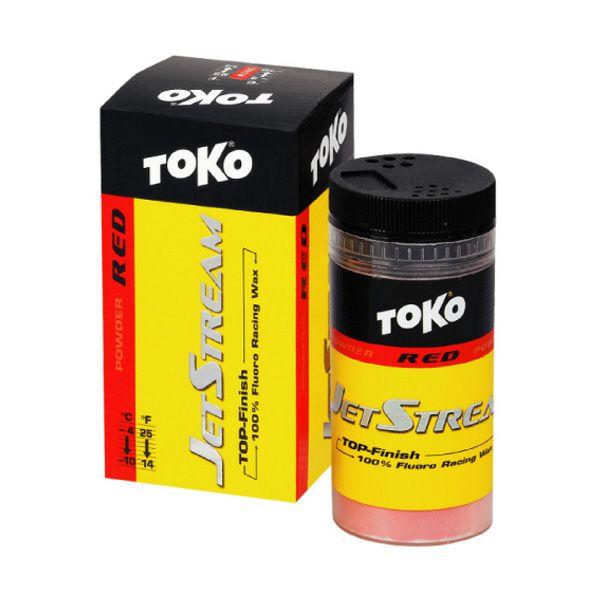 【送料無料】TOKO〔トコワックス〕JET-FFパウダー レッド 30g パウダー スキー スノーボ
