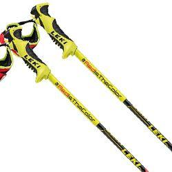Leki World Cup Racing GS Ski Pole 125cm RedBlack