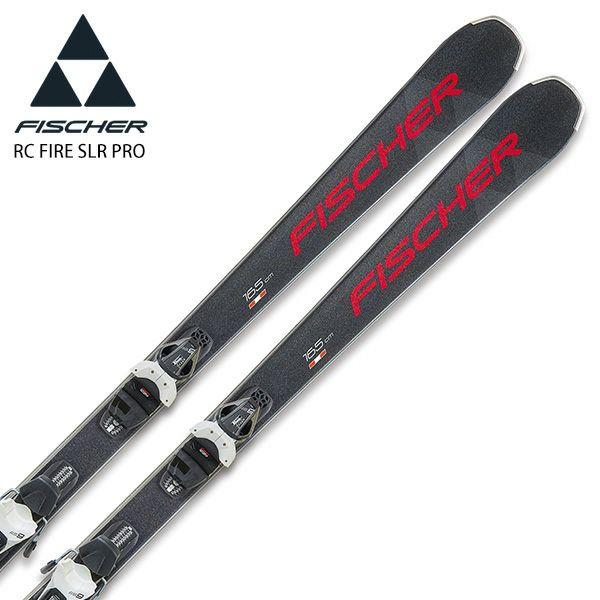 【送料無料】FISCHER フィッシャー スキー板 <2021> RC FIRE SLR PRO + RS 9 GW SLR